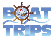 Boat trips Stock Image