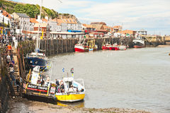 Boat trips in Whitby Royalty Free Stock Photo