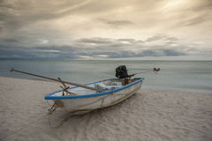 Boat in the tropical sea. Thailand Stock Photography