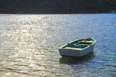 Boat in Turkey. Boat in water, near the mountains, Turkey Stock Photos