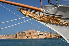 Boat from Valleta Royalty Free Stock Image