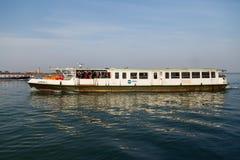 Boat in the Venetian Lagoon Stock Photos