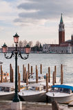 Boat in Venice harbour Royalty Free Stock Photography