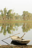 Boat at water royalty free stock image