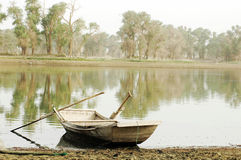 Boat at water Royalty Free Stock Images
