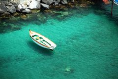 Boat on Water Royalty Free Stock Photography