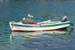 Boat in the Water Stock Image