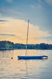 Boat on the water. Royalty Free Stock Photo