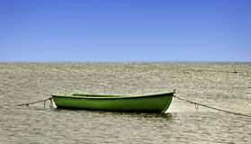 Boat on the water. Royalty Free Stock Photos