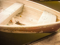 Boat on water Royalty Free Stock Images