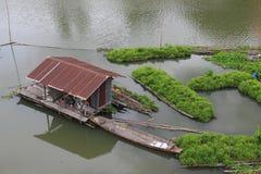 Boat wood Stock Photo