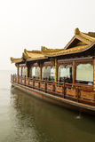 Boat in West Lake China Stock Photos
