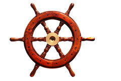 Boat wheel royalty free illustration