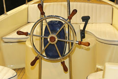 Boat wheel Royalty Free Stock Photography