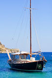 Boat whit sail Royalty Free Stock Images