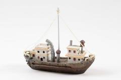 Boat on White Stock Image