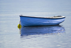 Boat, Wooden, Rowing boat, Blue, Anchored stock photos