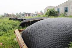 Boat workshop Stock Images