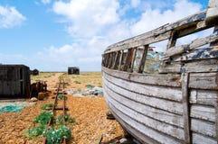 Boat wreck Royalty Free Stock Photos