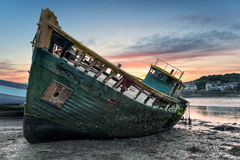 Boat Wreck Stock Image