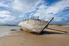 Boat wreck Royalty Free Stock Photos