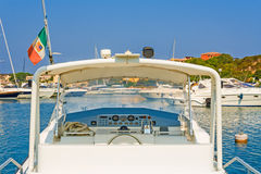 Boat yacht ship control Royalty Free Stock Images
