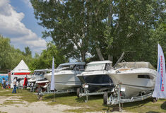 Boat and Yacht Show Stock Photo