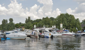 Boat and Yacht Show Royalty Free Stock Image