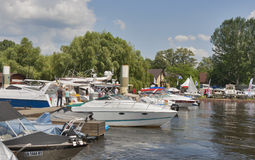 Boat and Yacht Show Royalty Free Stock Images