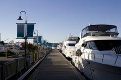 Boat Yard Royalty Free Stock Photography