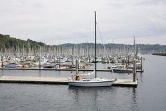 Boat Yard Stock Photo