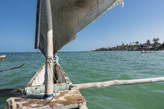 On the boat in Zanzibar Royalty Free Stock Images
