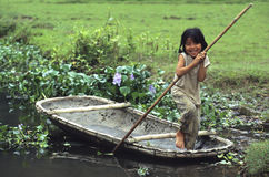 Boatchild Stock Images