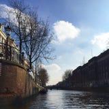 Boatcruise in Amsterdam stock foto