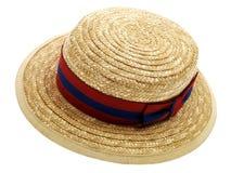 boater σχολείο καπέλων Στοκ εικόνα με δικαίωμα ελεύθερης χρήσης