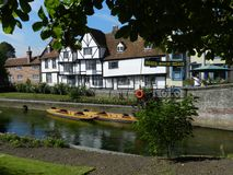 Boathire w Canterbury UK Fotografia Stock