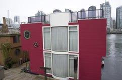 Boathouse στο νησί Granville Στοκ φωτογραφίες με δικαίωμα ελεύθερης χρήσης