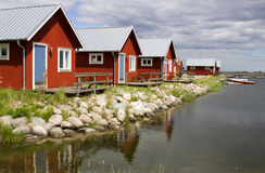 boathouse Швеция Стоковое Изображение RF