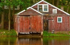 Boathouse Royalty Free Stock Photos