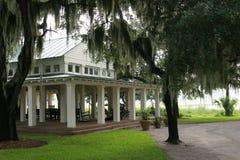 Free Boathouse And Oaks Stock Image - 1142821