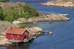 Boathouse Stock Photo