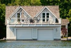 Boathouse de lujo imagen de archivo