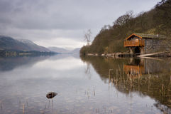 Boathouse de Ullswater imagenes de archivo