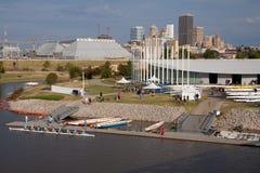 Boathouse del Chesapeake, Regatta di Città di Oklahoma Fotografia Stock