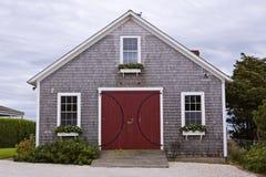 Boathouse en la isla de Nantucket Imagen de archivo