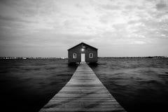 Boathouse en Perth Imagen de archivo