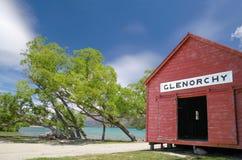 Boathouse at  Lake Wakatipu Royalty Free Stock Photography