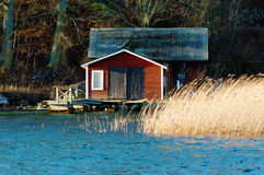 Boathouse Royalty Free Stock Image