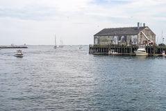Boathouse Provincetown Royalty Free Stock Photos