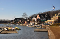 Boathouse Row, Fairmount Park, Philadelphia Stock Photography